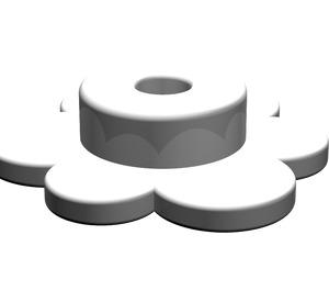 LEGO Medium Stone Gray Small Flower