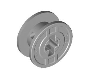 LEGO Medium Stone Gray Spool with Axle Hole (61510)