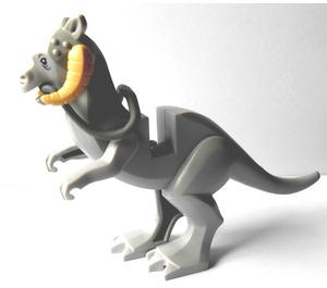 LEGO Medium Stone Gray Tauntaun with Flexible Tail (Long Flexible Tip)