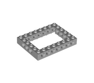 LEGO Medium Stone Gray Technic Brick 6 x 8 with Open Center 4 x 6 (32532)