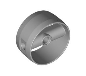 LEGO Medium Stone Gray Technic Cylinder with Center Bar (41531)