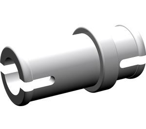 LEGO Medium Stone Gray Three Quarter Pin