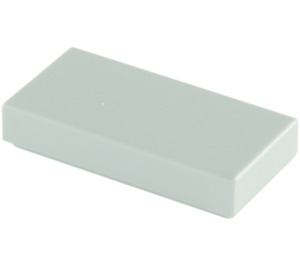 LEGO Medium Stone Gray Tile 1 x 2 with Groove (3069)