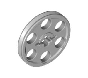 LEGO Medium Stone Gray Wedge Belt Wheel (4185)