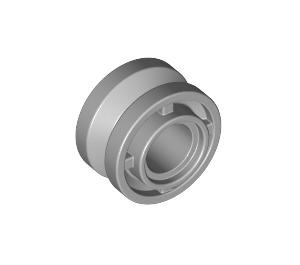LEGO Medium Stone Gray Wheel Hub Ø11.2 x 8 with Centre Groove (42610)