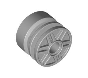 LEGO Medium Stone Gray Wheel Rim Ø18 x 14 with Pin Hole (20896 / 55981)