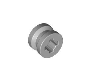 LEGO Medium Stone Gray Wheel Rim Ø8 x 6.4 without Side Notch (4624)