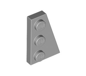 LEGO Medium Stone Gray Wing 2 x 3 Right (43722)