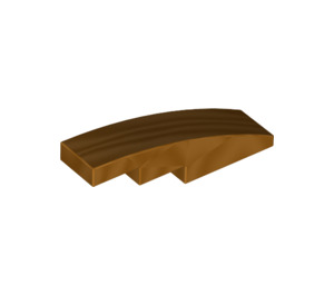 LEGO Metallic Gold Slope 1 x 4 Curved (67118)