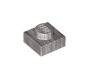 LEGO Metallic Silver Plate 1 x 1 (63326)