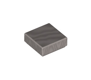 LEGO Metallic Silver Tile 1 x 1 with Groove (39727)
