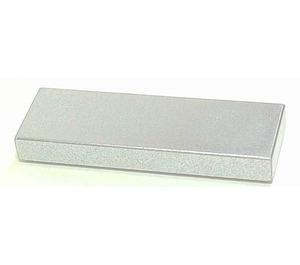 LEGO Metallic Silver Tile 1 x 3 (37294)