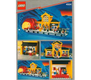 LEGO Metro Station Set 4554 Instructions