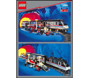 LEGO Metroliner Set 10001 Instructions