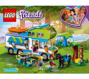 LEGO Mia's Camper Van Set 41339 Instructions