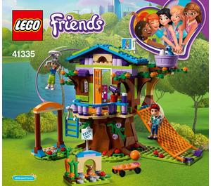 LEGO Mia's Tree House Set 41335 Instructions