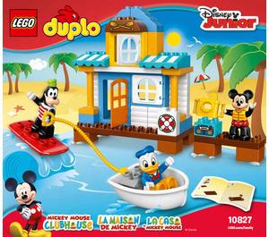 LEGO Mickey & Friends Beach House Set 10827 Instructions