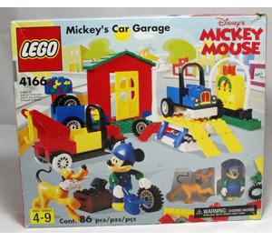 LEGO Mickey's Car Garage Set 4166