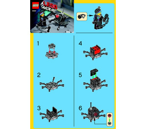 LEGO Micro Manager Battle  Set 30281 Instructions