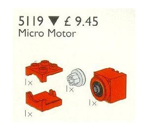 LEGO Micro Motor 9V Set 5119