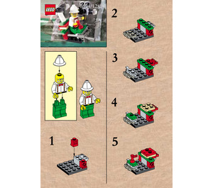 LEGO Microcopter Set 5904 Instructions