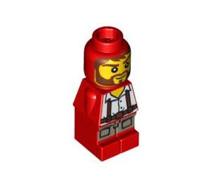 LEGO Microfig Ramses Return Adventurer Red