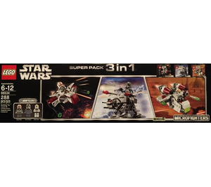 LEGO Microfighter 3 in 1 Super Pack Set 66534