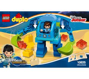 LEGO Miles' Exo-Flex Suit Set 10825 Instructions