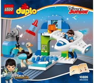 LEGO Miles' Stellosphere Hangar Set 10826 Instructions