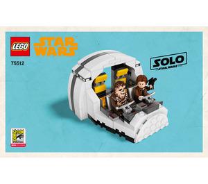 LEGO Millennium Falcon Cockpit Set 75512 Instructions