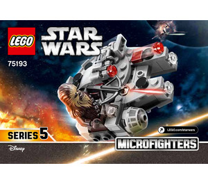 LEGO Millennium Falcon Microfighter Set 75193 Instructions