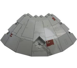 LEGO Millennium Falcon Quarter Saucer Top