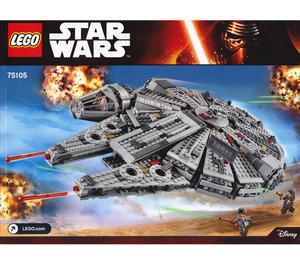 LEGO Millennium Falcon Set 75105 Instructions