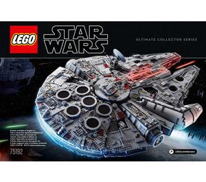 LEGO Millennium Falcon Set 75192 Instructions