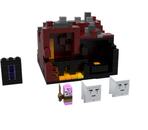 LEGO Minecraft Micro World: The Nether Set 21106