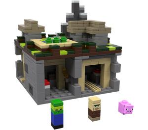 LEGO Minecraft Micro World: The Village Set 21105