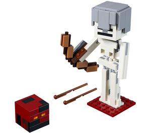 LEGO Minecraft Skeleton BigFig with Magma Cube Set 21150