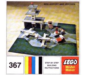 LEGO Mini Airport and Vehicle Set 367-2 Instructions