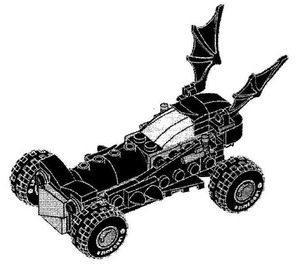 LEGO Mini Batmobile Set MINIBATMOBILE