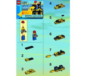 LEGO Mini Digger Set 7246 Instructions