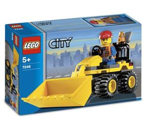 LEGO Mini Digger Set 7246 Packaging