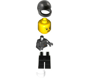 LEGO Mini Driver Minifigure
