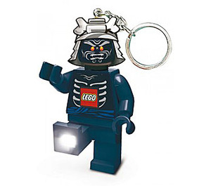 LEGO Mini Torch Minifig Flashlight Key Chain Ninjago Lord Garmadon