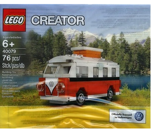 LEGO Mini VW T1 Camper Van Set 40079 Packaging