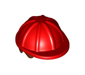 LEGO Minifig Construction Helmet with Reddish Brown Hair (16175)