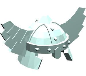 LEGO Minifig Helmet Cap with Wings (60747 / 61846)