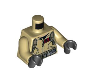 LEGO Minifig Torso Ghostbusters Dr. Egon Spengler (973 / 76382)