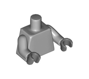 LEGO Minifig Torso with Dark stone gray hands (76382 / 88585)