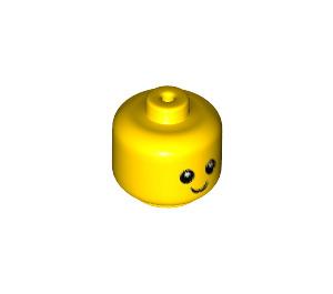 LEGO Minifigure Baby Head with Neck (35666)