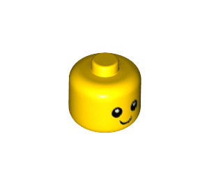 LEGO Minifigure Baby Head without Neck (24581 / 26556)